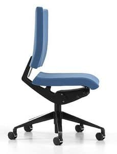 AVIAMID 3400, Office chair with padded seat and back