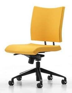 AVIAMID 3440, Swivel chair on wheels, with tilt mechanism