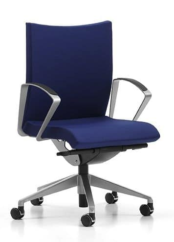 AVIAMID 3504, Swivel chair on wheels, for computer room