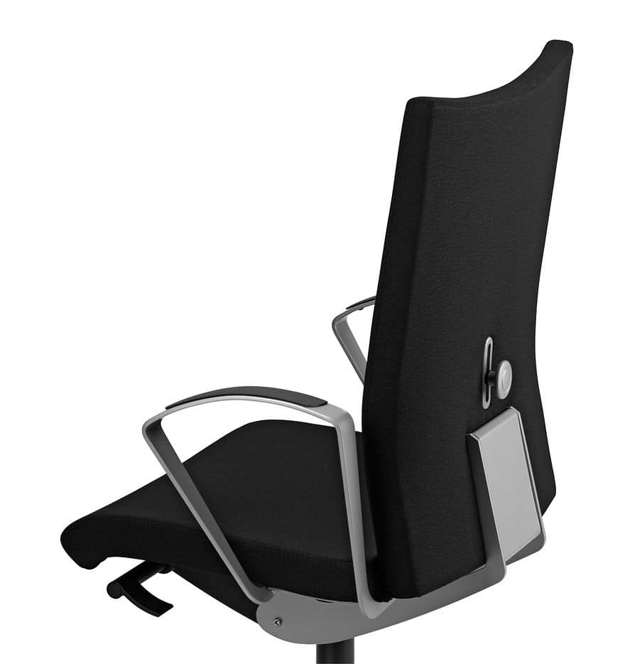 AVIAMID 3514, Padded chair with armrests, for modern office