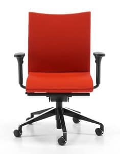 AVIAMID 3516, Padded task chair, swivel, for computer room