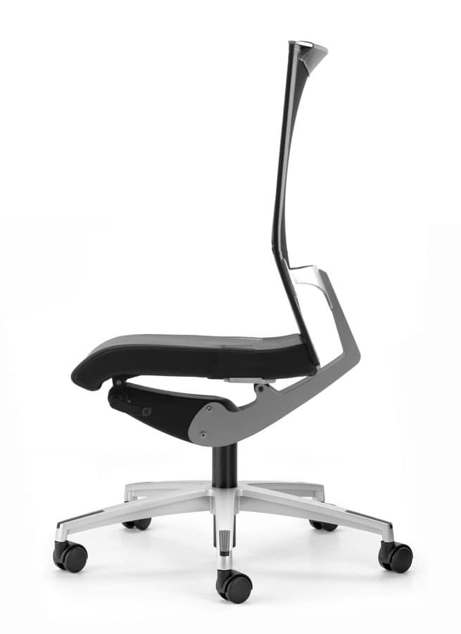 AVIANET 3610, Task chair with 5-star base with castors, for office