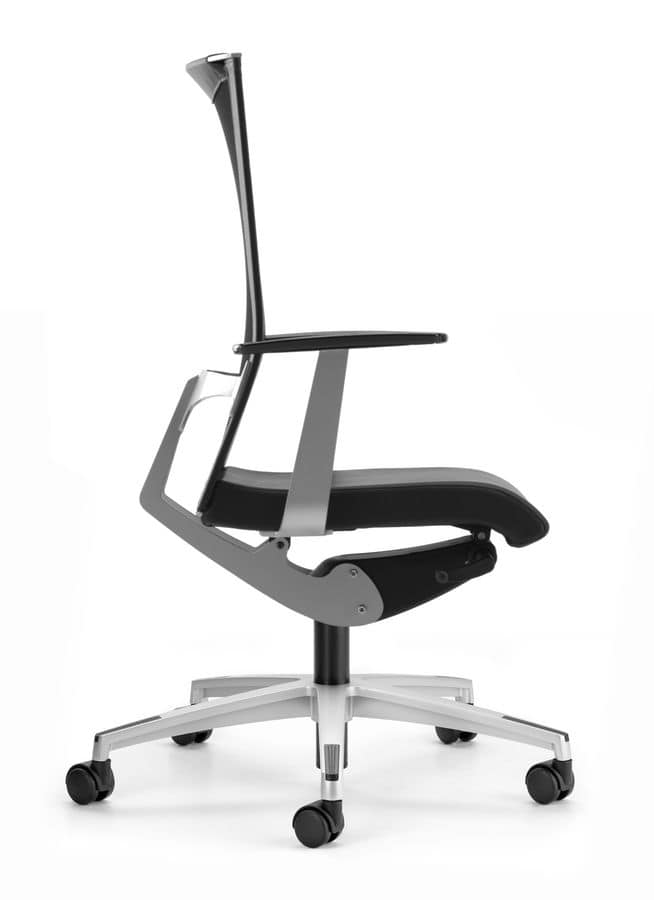 AVIANET 3612, Office chair, with wheels and lumbar support
