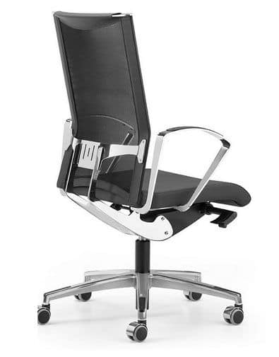 AVIANET 3614, Work chairs with mesh backrest and lumbar support