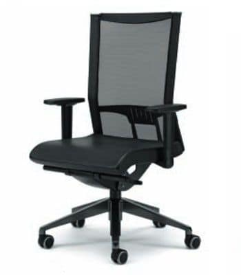 AVIANET 3616, Office chairs with mesh backrest and armrests