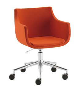 Day & Night Pad, Swivel chair with wheels