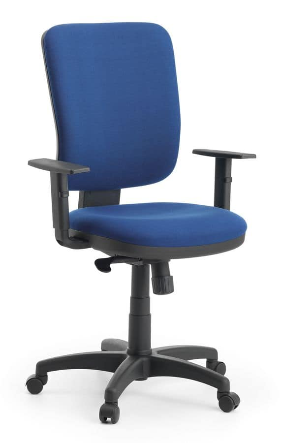 Eros 01 SY, Padded task chair in polypropylene, for office