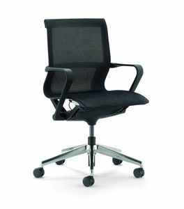 Evolution B, Mesh office chair on castors