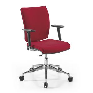 Fire low, Office armchair, for workstation