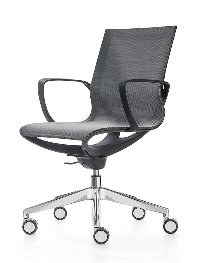 Key Line, Office chair in breathable mesh