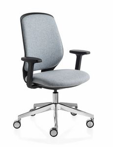 Key Smart Advanced, Office chair with padded back
