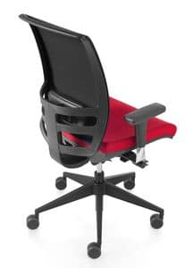 Konica, Task chair with mesh back, adjustable height