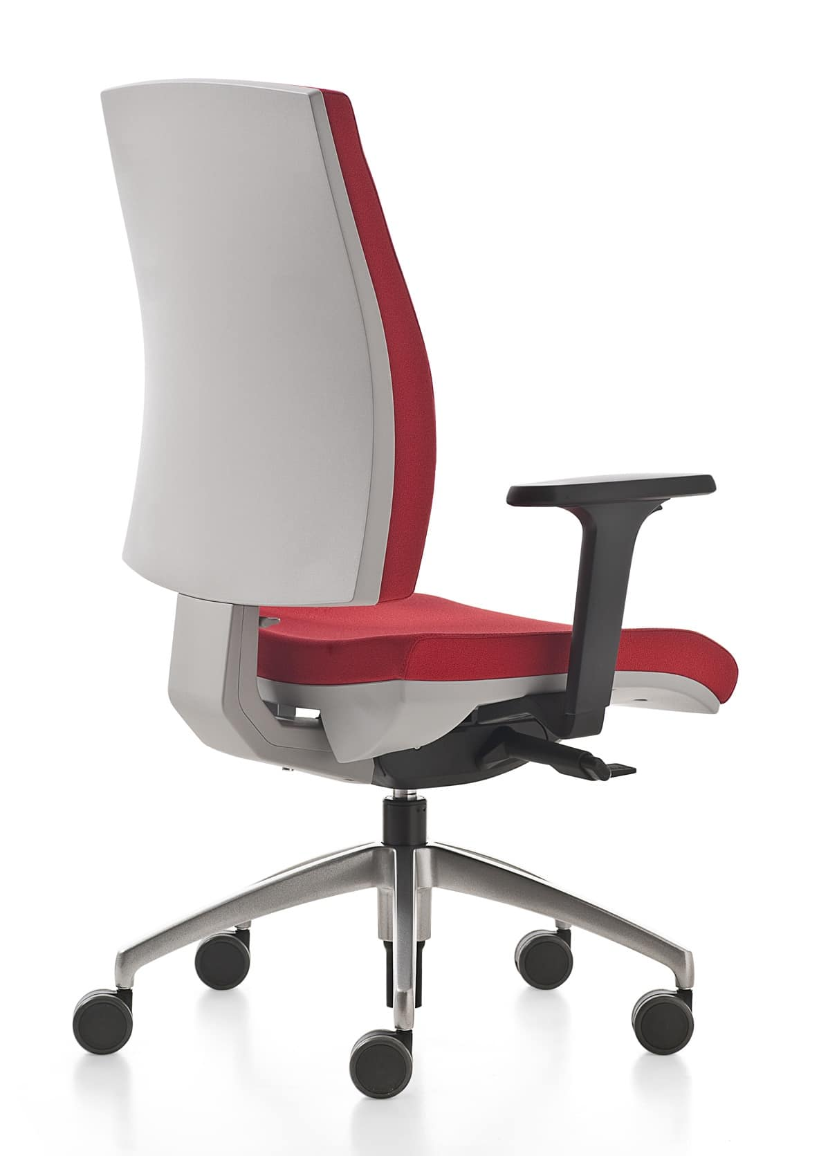 Kubika, Swivel office chair, with adjustable lumbar support