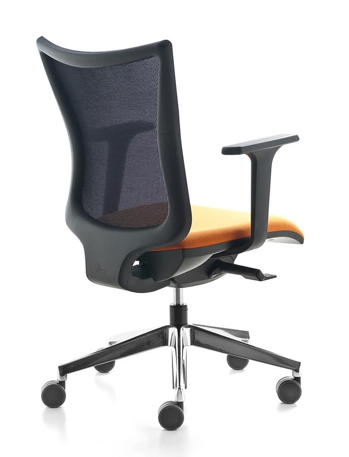 Kuper, Office swivel chair, various dimensions and finishes