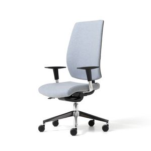 Lead upholstered, Padded office chair with ergonomic adjustments