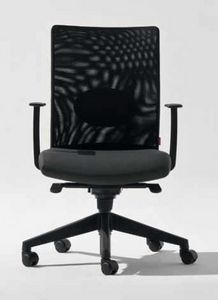 Lora-RE, Office chair with mesh backrest