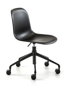 Mani plastic HO, Chair with wheels, adjustable in height