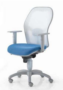Matrix, Office operating chair, with net backrest