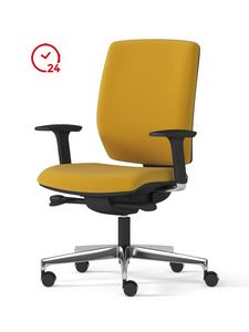 MIRAI 24, Task chair with wheels for office