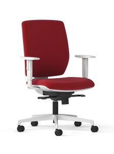 MIRAI WHITE, Task padded office chair