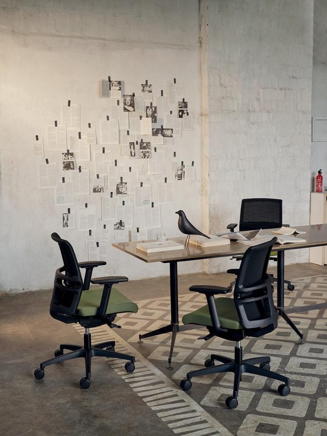 Omnia Plus 01, Operative office chair