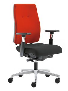 Sax 24, Durable office operating chair