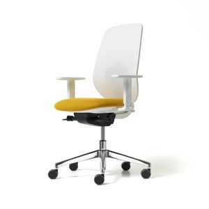Skin Mesh, Office chair with mesh backrest