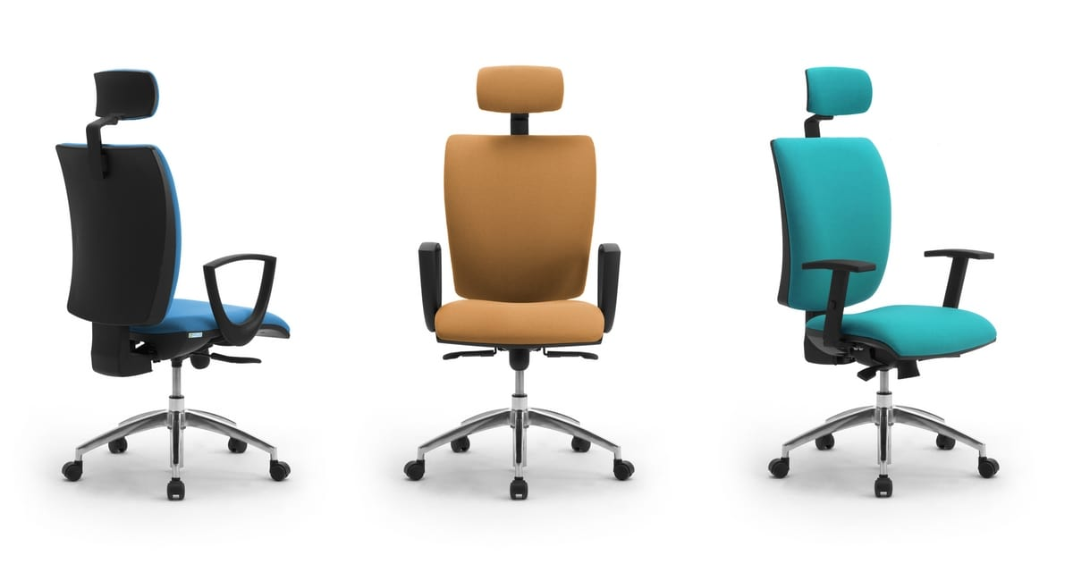 Sprint X with headrest, Task chair with headrest