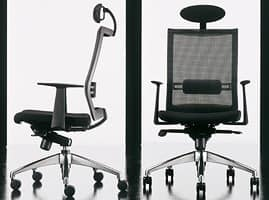 Star, Computer chair, ergonomic, with lumbar support