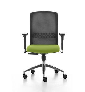 Tekna 01, Office task chair, with mesh backrest