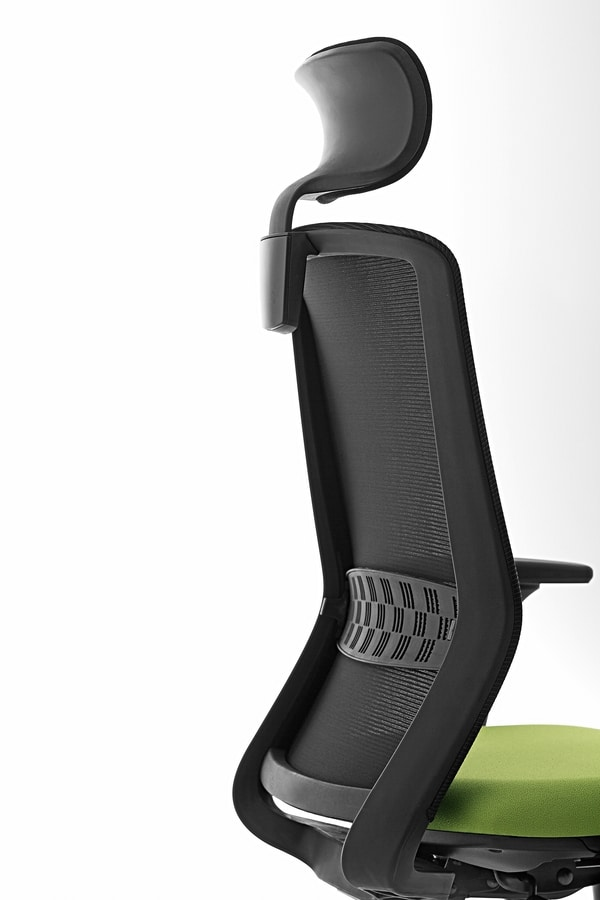 Tekna 01 PT, Office chair with headrest