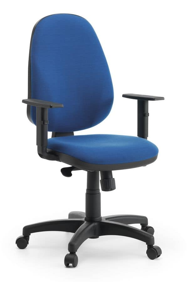 Tiger 01 SY, Padded task chair with wheels for office