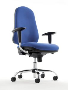 UF 341, Task chair with wheels, for office and call center