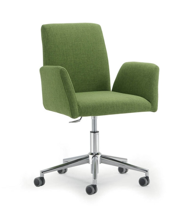UF 510 / B, Padded task chair, low back