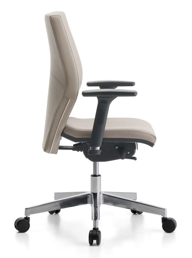 Venus Soft 02, Task chair with armrests for office