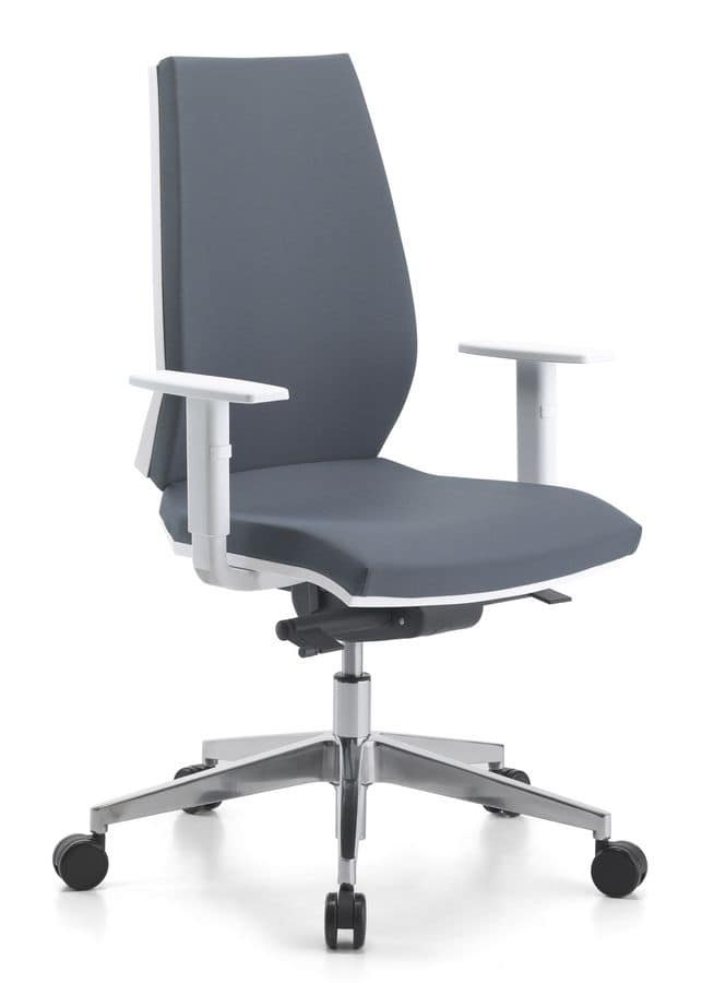 Venus WH 01, Task chair with castors for office
