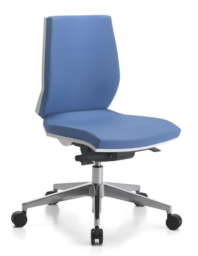 Venus WH 02, Task chair with wheels, for office