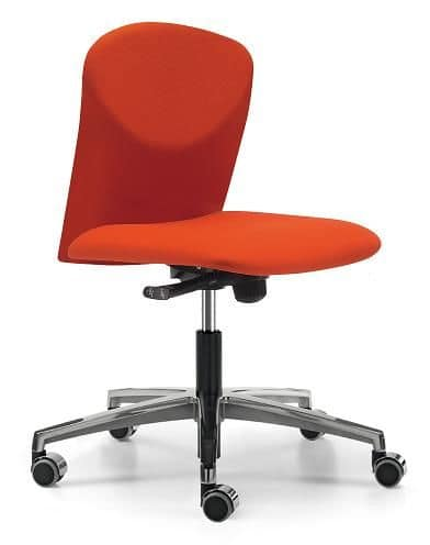 VULCAN 1300 Z, Padded task chair with wheels for office
