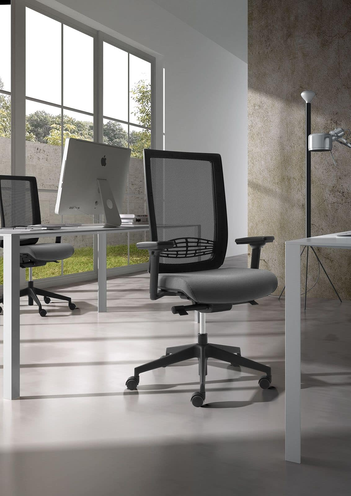 Operational office chair with lumbar support IDFdesign