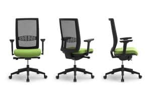 Wiki RE, Operational office chair with lumbar support