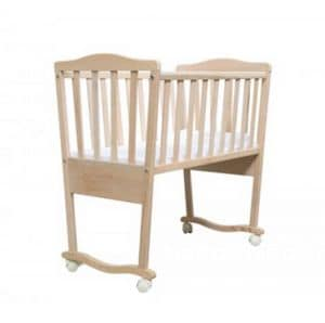 BABY, Wooden cradle, in essential style, for nurseries