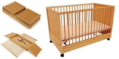 DURMI', Cot for children, sealable, for children's rooms
