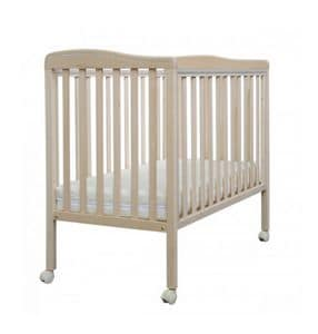 NAN�, Wooden cradle, in minimal style, drop sides
