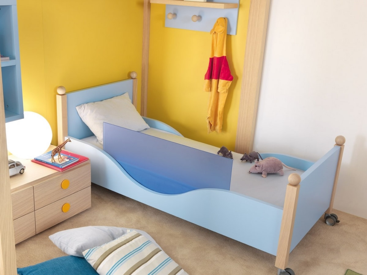 Pisolo, Children's bed with wheels
