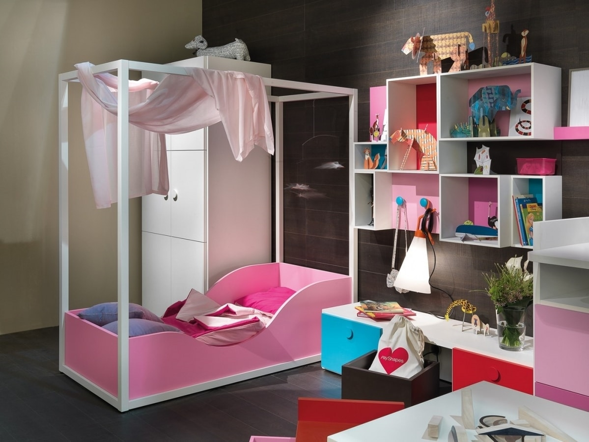 Canopy Bed For Girls Idfdesign