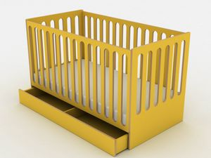 Sleep, Crib convertible into a Montessori bed