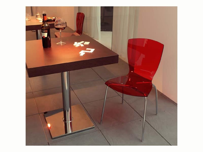 ART. 503, Wooden top for bar tables