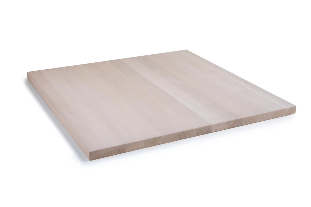 ART. 505, Solid wood table tops