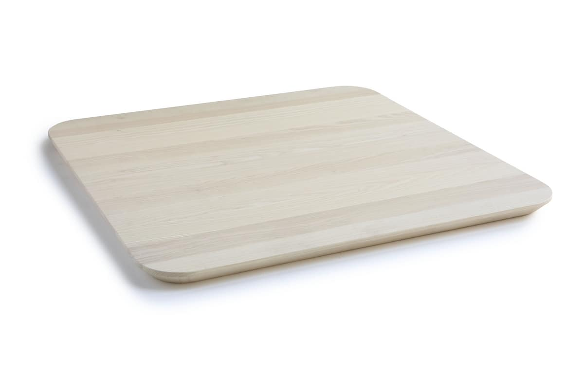 ART. 0098-5 AKY CONTRACT SQUARE, Design table top with beveled edge