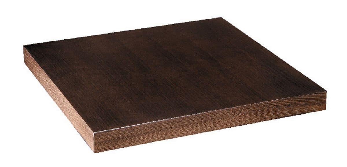 Table top in beech veneer dark walnut, Top in beech veneer dark walnut